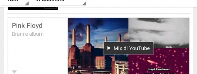 YouTube Mix