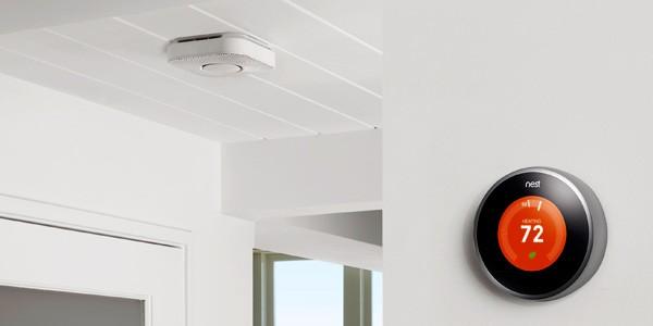 Il termostato Nest e il sensore Nest Protect nella stessa abitazione