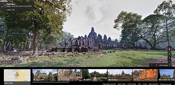 Il tempio Bayon di Angkor Thom (Cambogia)