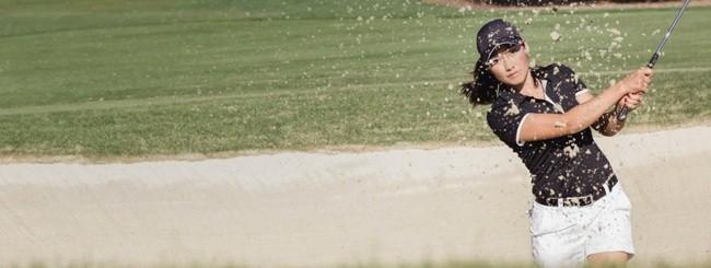 Golfista con Google Glass