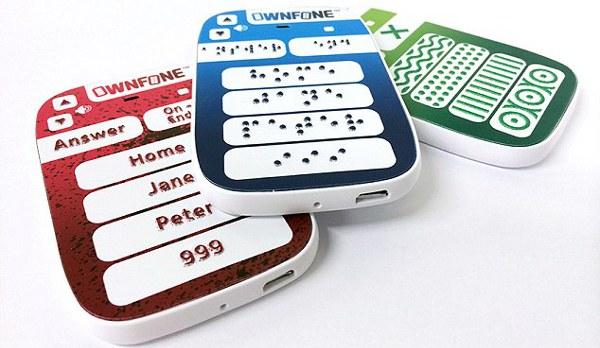 Il telefono Braille di OwnFone