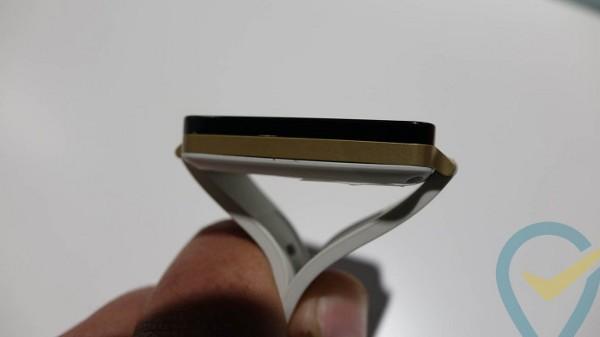 LG G Watch, una immagine dall'hands on