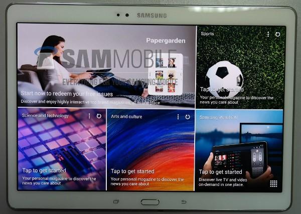La prima presunta immagine del Samsung Galaxy Tab S da 10 pollici