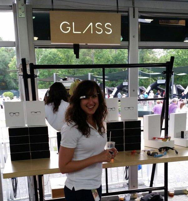 Lo stand Google al The Players Championship per i Google Glass