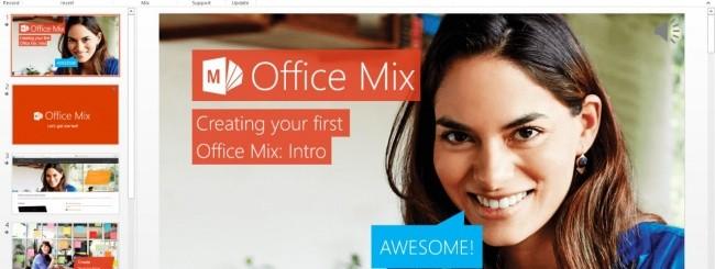 Office Mix Ribbon