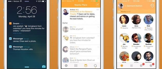 Swarm per iOS