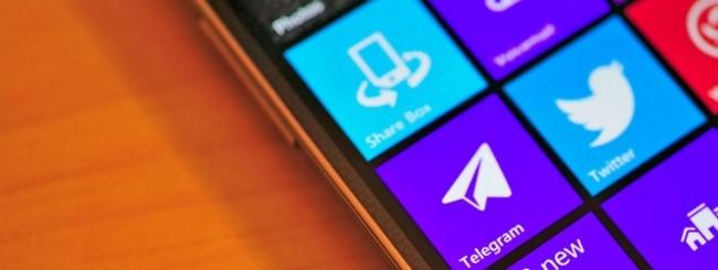 Telegram per Windows Phone
