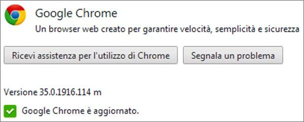 Chrome per Windows, OS X e Linux aggiornato alla versione 35 (35.0.1916.114)