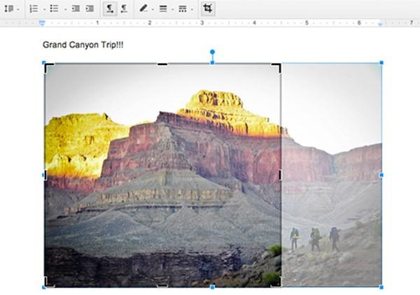 Nuovi strumenti per l'elaborazione delle immagini inserite nei Documenti di Google Drive