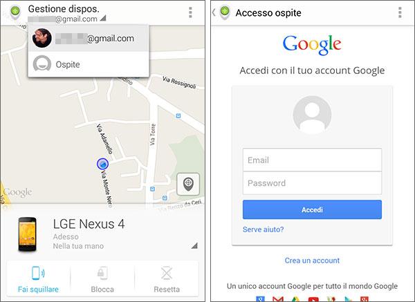 """La nuova """"modalità Ospite"""" introdotta da Google nell'applicazione Gestione Dispositivi Android"""