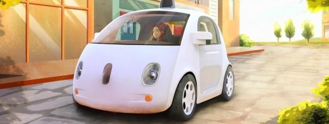 Google selft-driving car