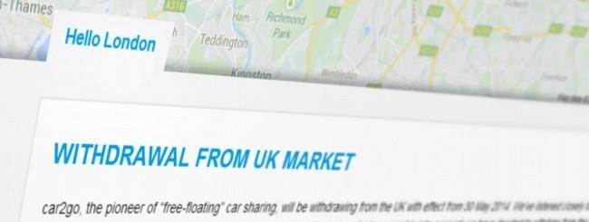 Car2Go, hello London