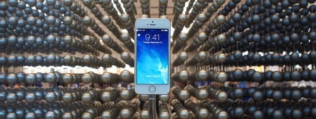 iPhone 5S in esposizione