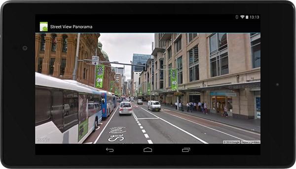 Le immagini panoramiche a 360 gradi di Street View incluse nelle applicazioni Android