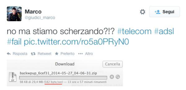 ADSL Telecom Italia, problemi di routing estero