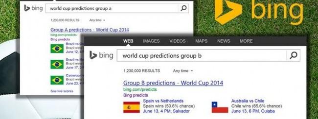 Bing World Cup 2014