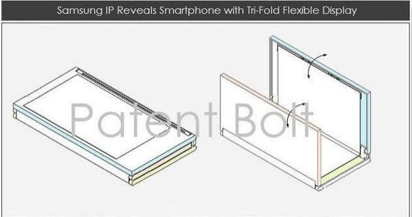 Brevetto Samsung per un tablet pieghevole