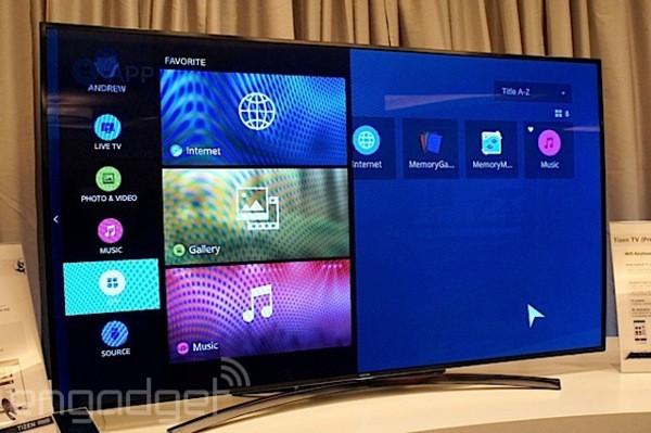 Il primo prototipo della Samsung Smart TV con Tizen