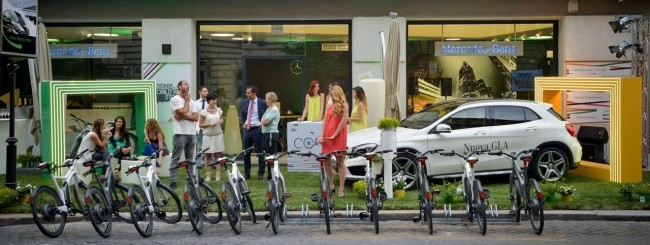 Mercedes Urban Mobility Store