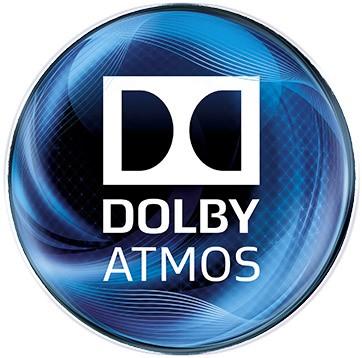 Il logo della tecnologia Dolby Atmos