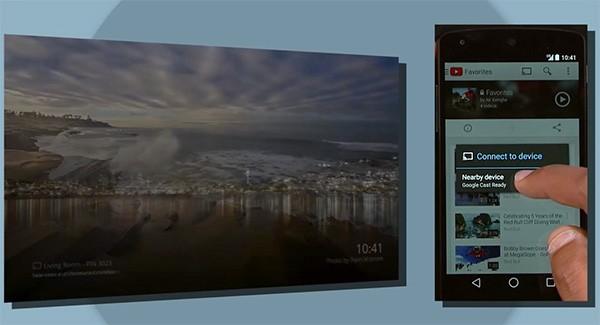 Google Chromecast e il casting dai dispositivi nelle vicinanze