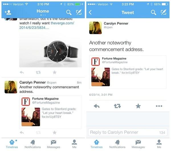 Twitter sperimenta i commenti