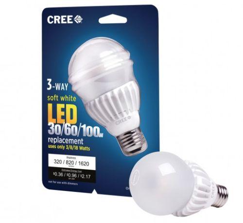 Cree led bulb a 3 vie