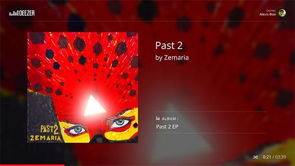La musica di Deezer arriva sulla TV, grazie all'integrazione con Chromecast: ecco l'interfaccia