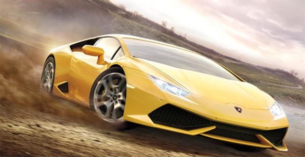 La 2015 Lamborghini Huracán in Forza Horizon 2