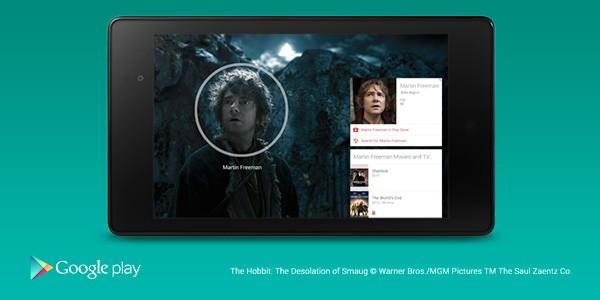 Le info cards per i film di Google Play Movies