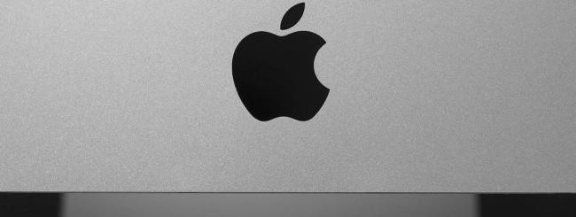 iMac, logo Apple