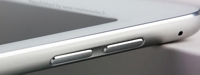 iPad Air 2, pulsanti laterali