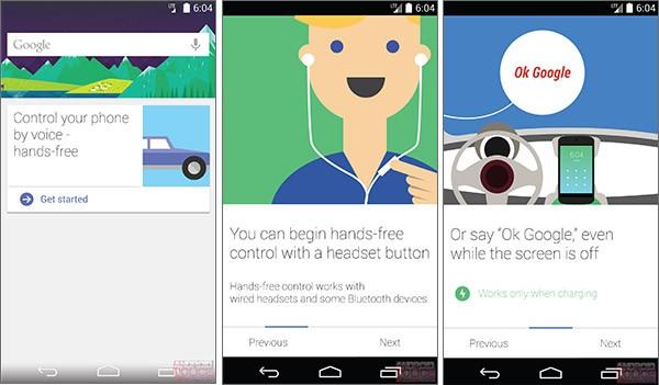 Mock-up per l'interfaccia di Google KITT