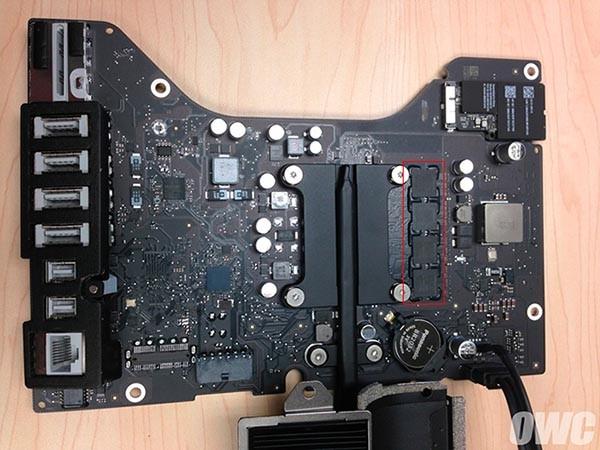 Scheda logica di iMac