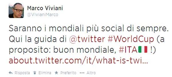 tweet mondiali