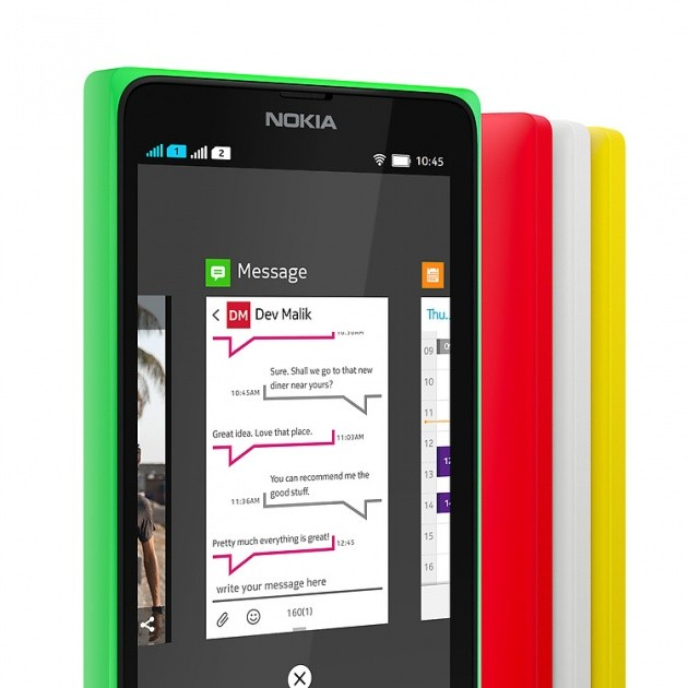 App Switcher su Nokia X