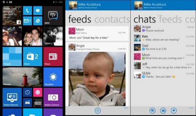 BBM per Windows Phone.