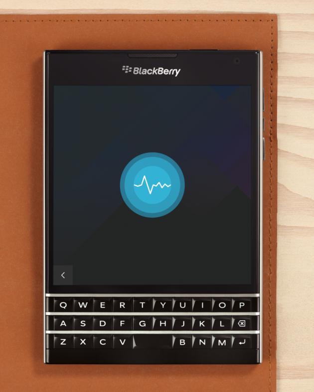 BlackBerry Assistant sul BlackBerry Passport.