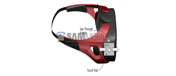La prima immagine del presunto visore Gear VR di Samsung
