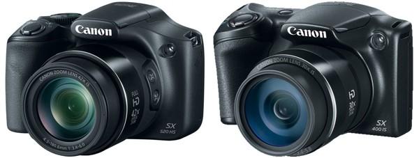Le due nuove Canon PowerShot SX520 HS e PowerShot SX400