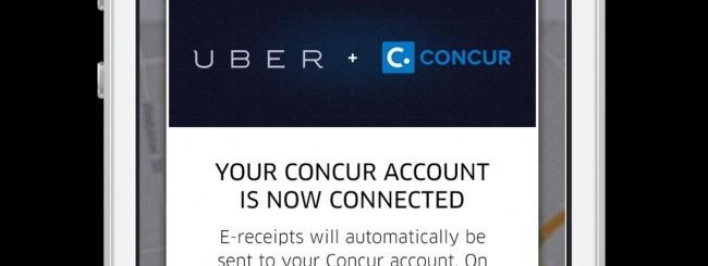 Uber e Concur