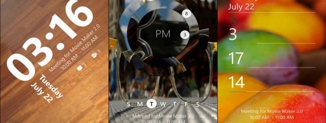 Windows Phone 8.1 - Lockscreen