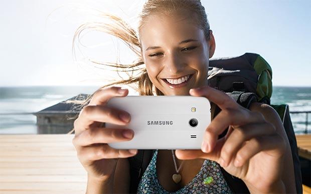 Lo smartphone Samsung Galaxy Ace 4