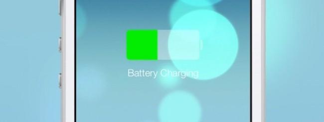 Carica batteria iOS 7