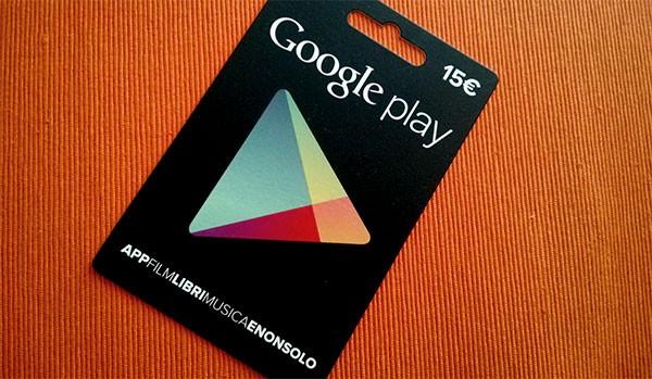Google Play, carte regalo: ecco cosa cercare tra gli espositori dei supermercati Esselunga