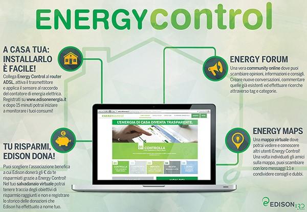 Le caratteristiche principali di Edison Energy Control: tra installazione, forum, mappe e attività benefiche