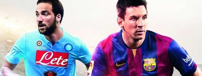 FIFA 15, Higuain e Messi