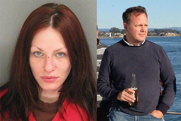 Alix Catherine Tichelman (a sinistra) e Forrest Timothy Hayes (a destra)