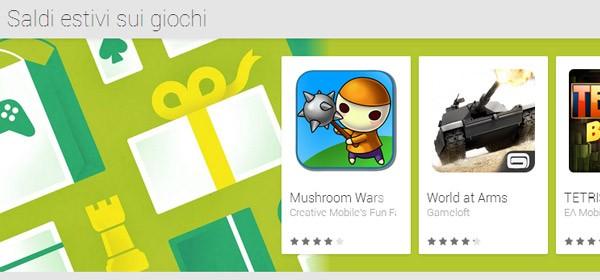 Giochi per Android scontati su Google Play in occasione dei saldi estivi