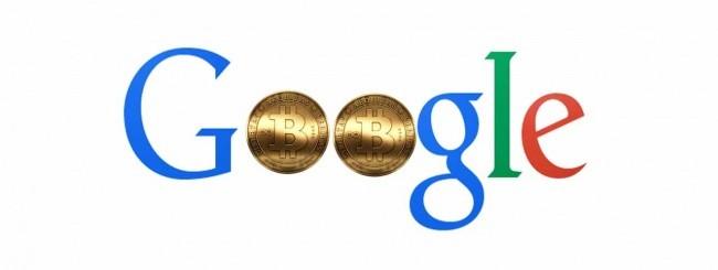 google logo bitcoin